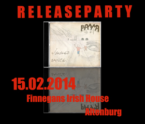 Releaseparty im Finnegans Irisch Pub (Altenburg) - 15.02.2014